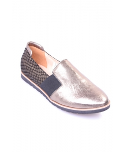 Slip-on topánky zlaté JAMI