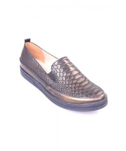Slip-on topánky metalické JAMI
