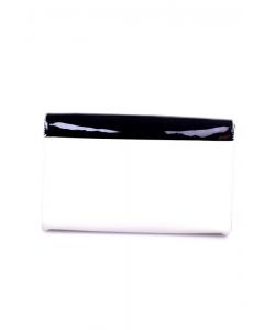 Kabelka smotanovo-čierna monnari