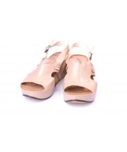 Sandálky béžové ZUREK