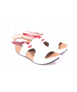 Sandálky biele ZUREK
