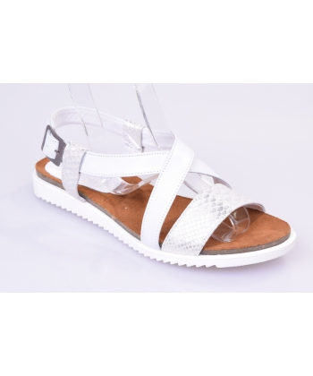 33a422aeb1 Sandále biele IMUNZI