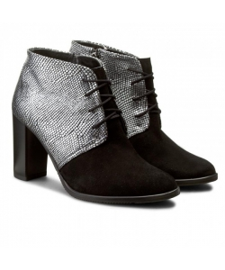 Dámske topánky čierno-sivé LANQIER