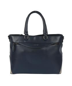 Dámska modrá kabelka MONNARI