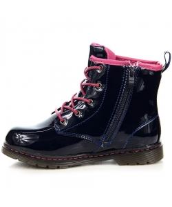 Dievčenské modré topánky