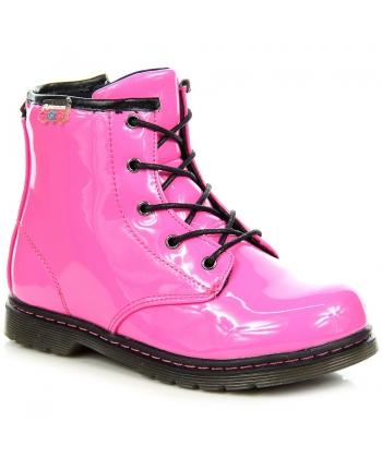 d7bacdbeb457 Ružové prechodné topánočky