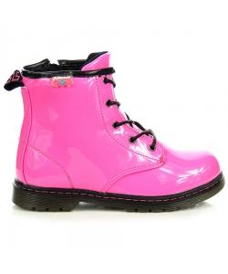 Ružové dievčenské topánky