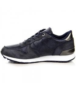 Dámske modré botasky WISHOT