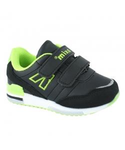 Detské čierne botasky AXIM